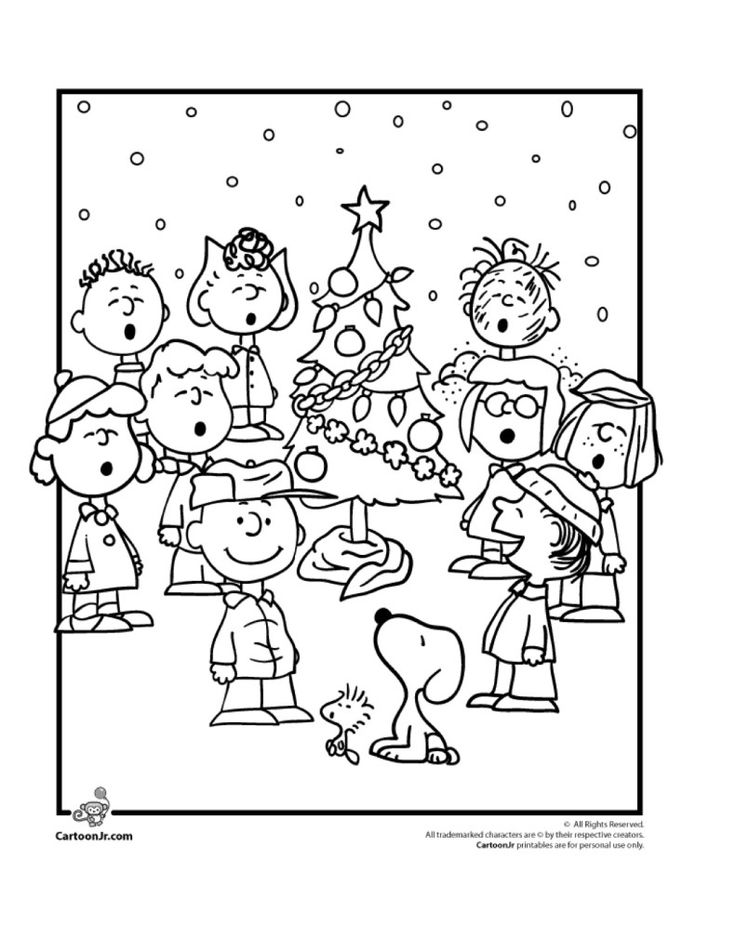 9 Wonderful Winter Kids Coloring Pages | Artsy | Christmas ...