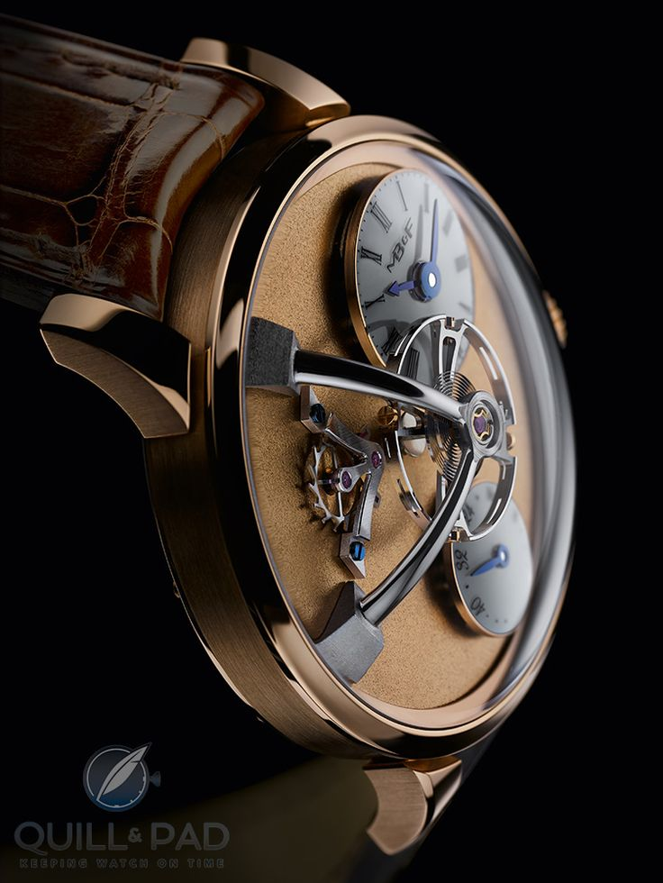 MB&F LM101 Frost in yellow gold