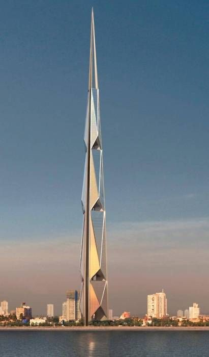 //Norman Foster- India Tower Mumbai #modern #architecture