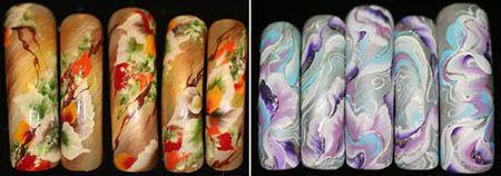 рисунки на ногтях китайская роспись