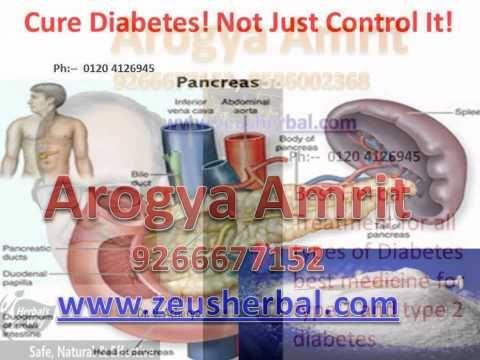 Arogya Amrit – Best Herbal Treatment for Diabetes, best medicine for typ...