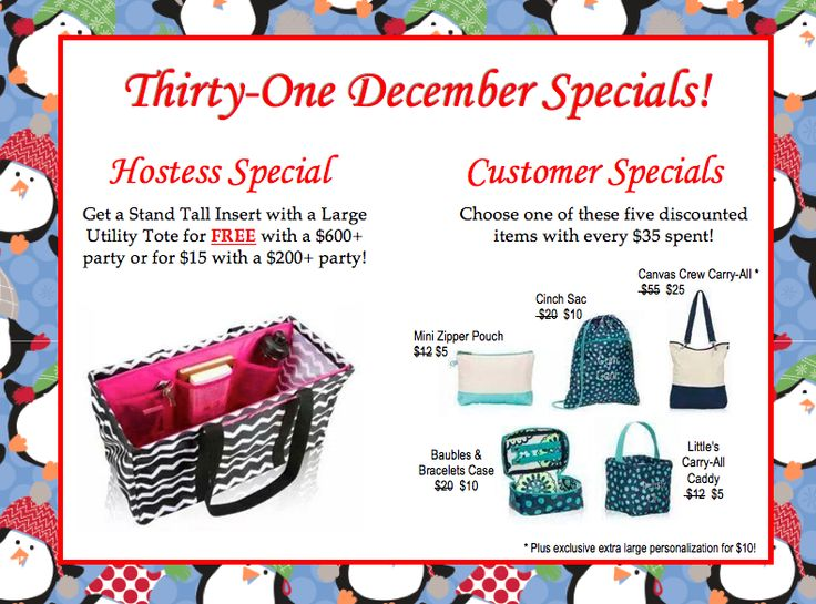 Dec 01,  · (Specials subject to substitution based on availability) Card Caddy available while supplies last. December Hostess Special This month you can choose two items from the list below for $10 each when you host at least a $ party. Personalization not included.