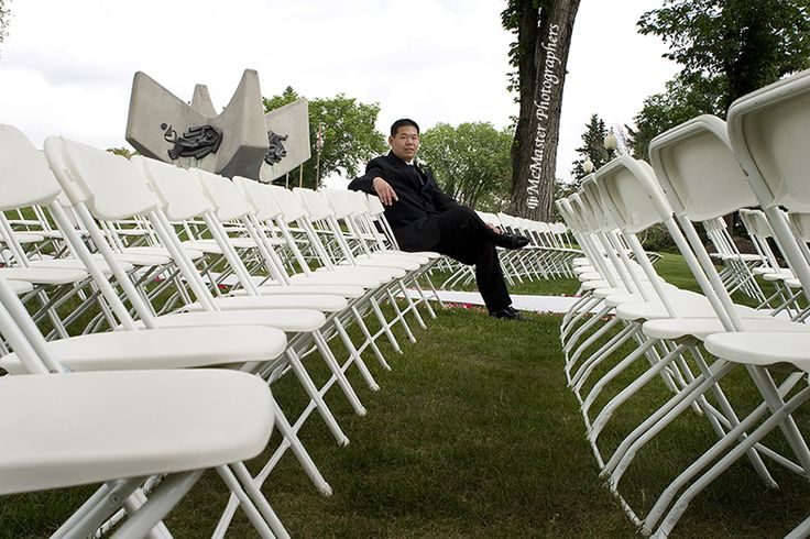 Relaxing and waiting for guests to arrive... #yeg #yegwedding #edmontonphotography