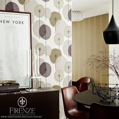 81 best images about papel tapiz firenze on pinterest for Decoracion oficina