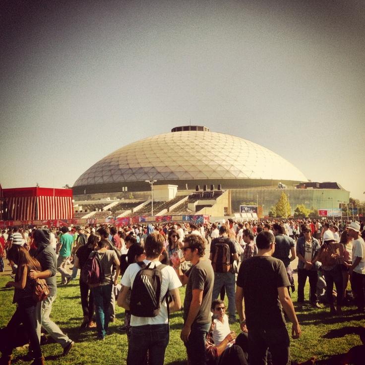 Lollapalooza Chile, Sábado 6 de Abril de 2013 Parque O'higgins.