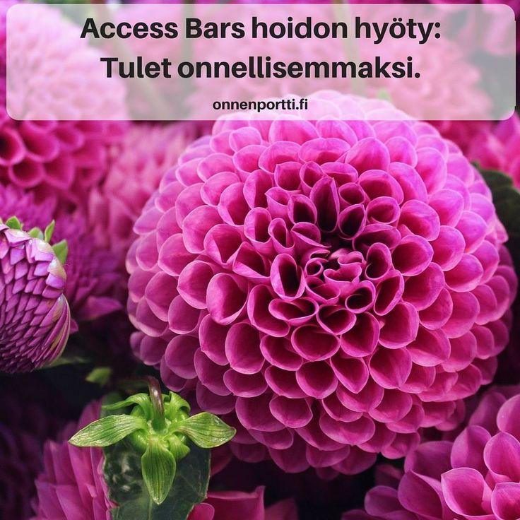 Access Bars hyöty: Tulet onnellisemmaksi #accessbars #getyourbarsrun #hyöty #onni #onnellisuus #onnellisempi