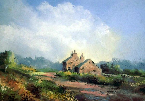 Interview with artist Jenny Keal at Patchings Art Festival 2014 | Watercolour Journey by Ian McKendrick