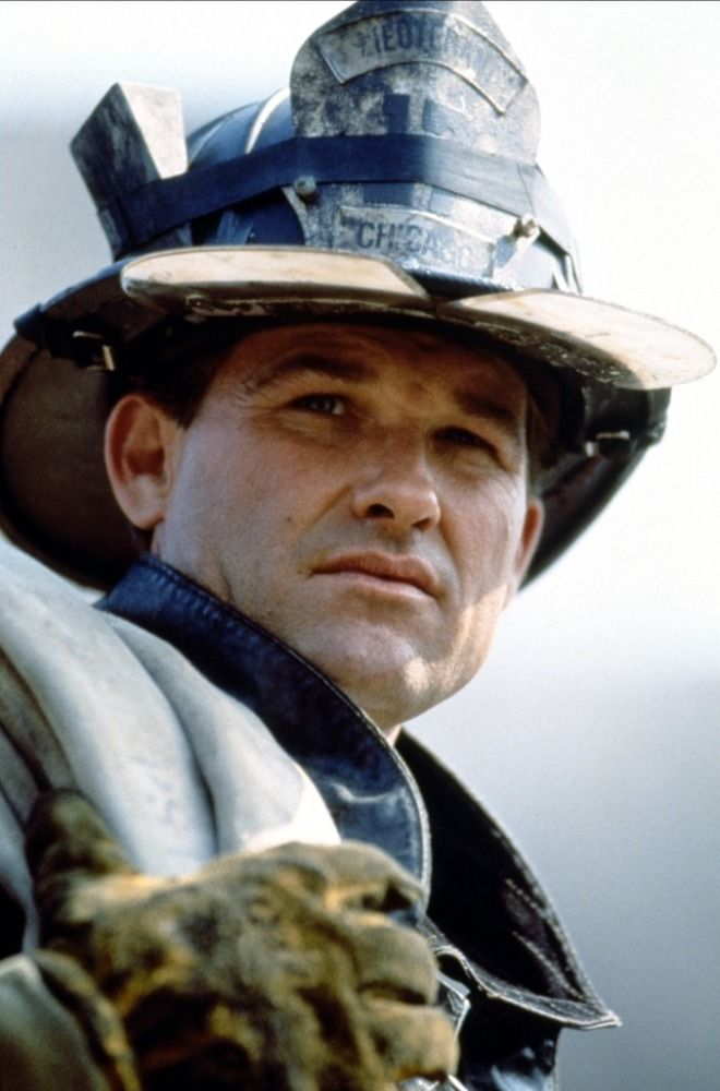 And I watched Kurt Russell in this movie and knew I had to marry a fireman.