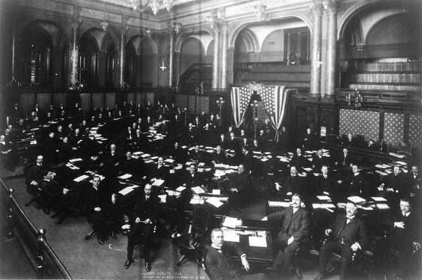 Illinois Senate Chamber, 1905.