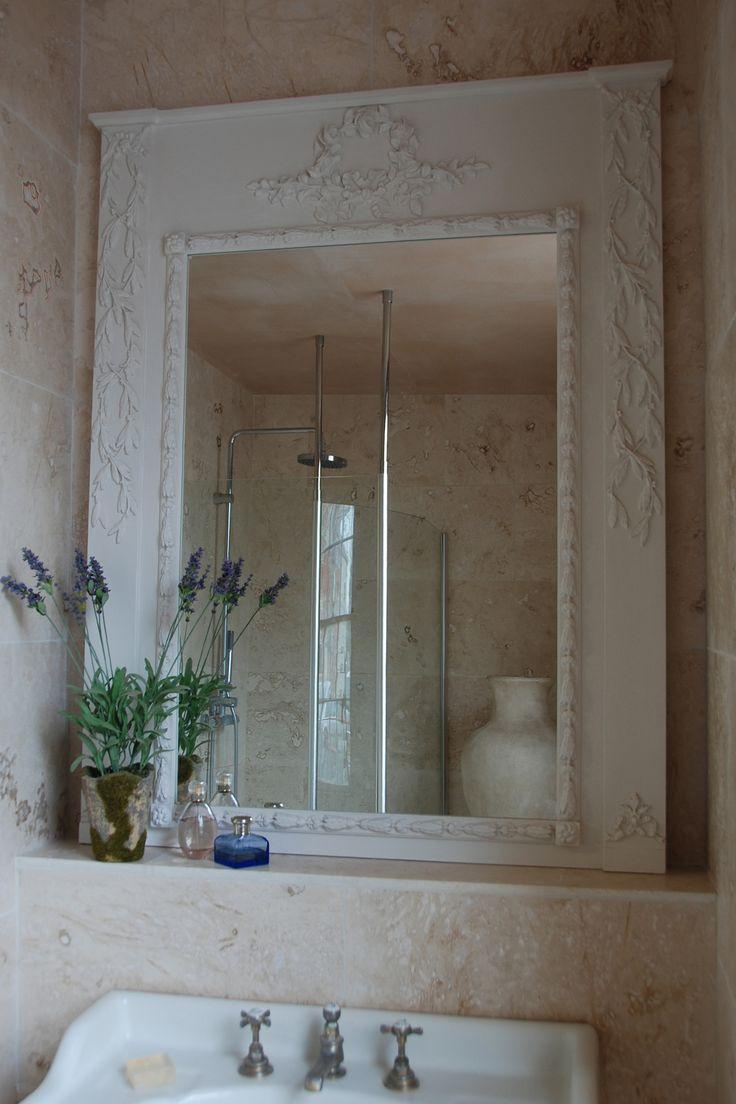 """Jardin"" trumeau style mirror classicandchic.co.uk"