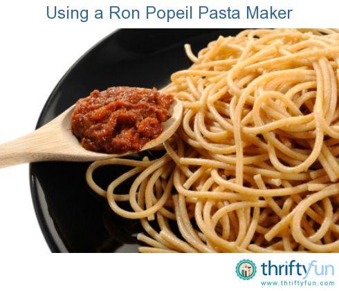 Popeil automatic pasta maker model p400 12 dies manual.