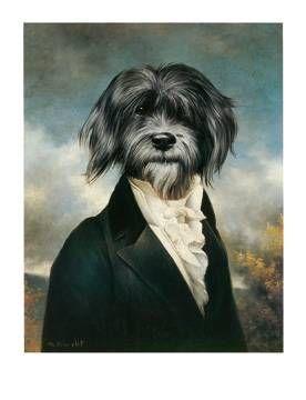 Poncelet Gavroche Kunstdruck Leinwandbild Gerahmtes Bild Kunstdruck Haustierfotos Und Tiere Malen