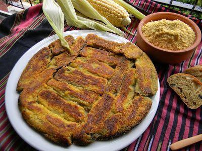 Mısır Unlu Tereyağlı Patlıcan Döndermesi | Vişnap
