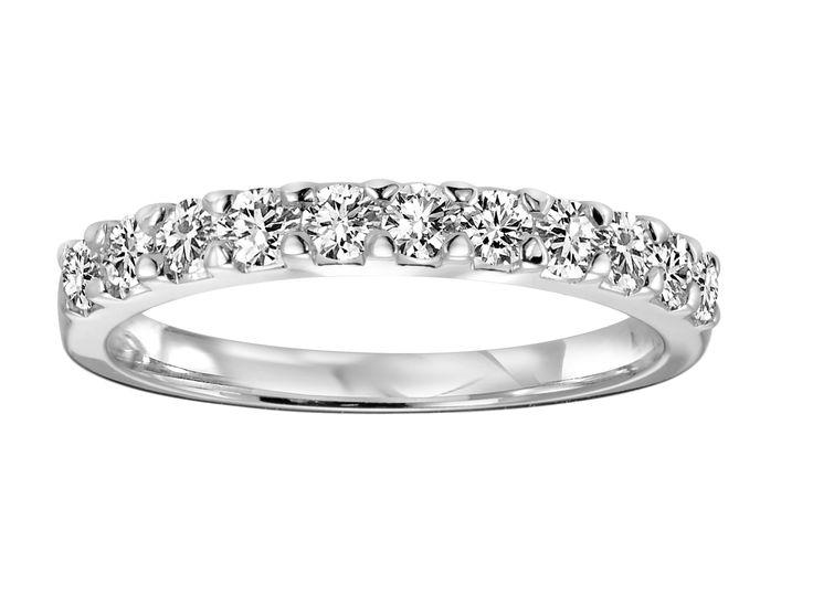 Claw Set Diamond Band .35ct tw.