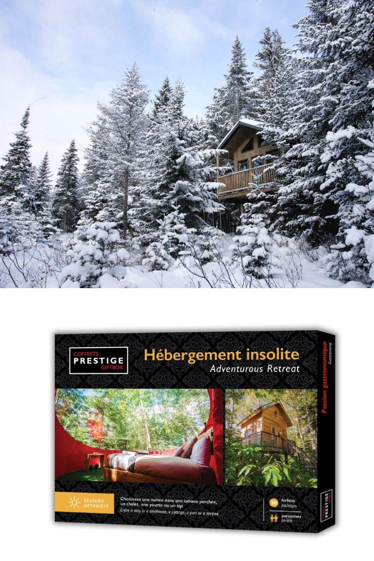 Coffrets Prestige Hebergement Insolite Idee Cadeau Quebec Idee Cadeau Quebec Natural Landmarks Landmarks Nature