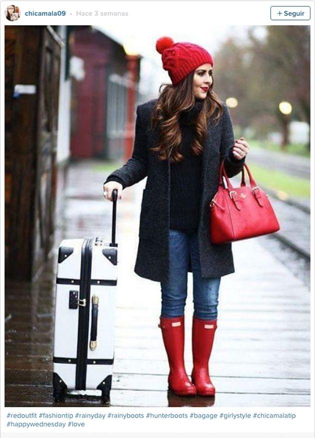 En fotos: 15 outfits con botas de lluvia que te encantarán