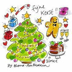 Blond Amsterdam kerst
