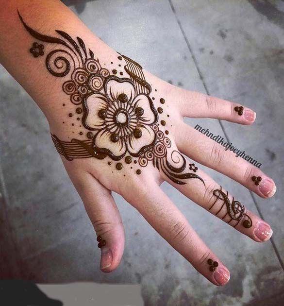 It Was Such A Good Mehndi Design Idea Henna Designs Mehndi Designs Henna Tattoo Designs