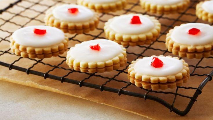 Receta | Galletas imperio (Empire Cookies) - canalcocina.es