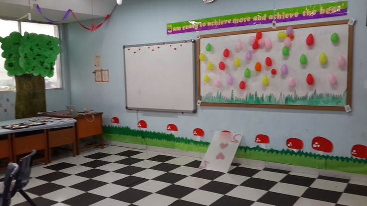 Gambar Hiasan Dinding Kelas TK Yang Kreatif, Menarik, dan Lucu