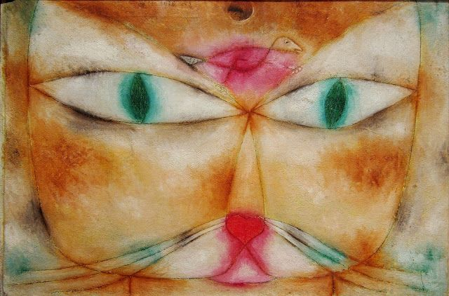 Paul Klee Cat and Bird, 1928