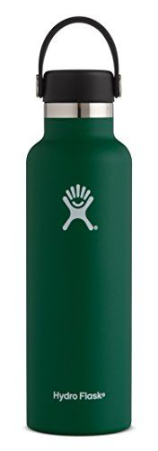 Hydro Flask 12 oz Double Wall Vacuum Insulated Stainless Steel Leak Proof Kids Sports Water Bottle, Standard Mouth with BPA Free Flex Cap, Sage. For product & price info go to:  https://all4hiking.com/products/hydro-flask-12-oz-double-wall-vacuum-insulated-stainless-steel-leak-proof-kids-sports-water-bottle-standard-mouth-with-bpa-free-flex-cap-sage/