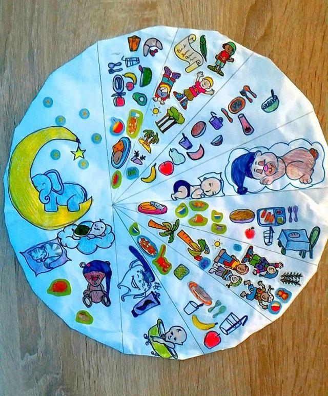 Clock planner for kids