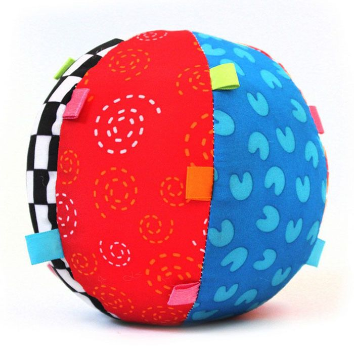 Colorful Baby Children's Ring Bell Ball