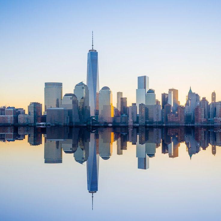 Architectural Digest . com Manhattan Skyline NYC
