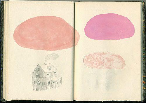the sketchbook of artist Julia Selin