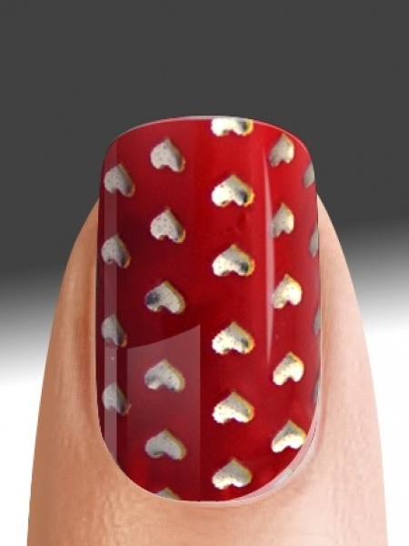 28 best unhas images on pinterest enamels nail designs and nail art valentijn nail art lilys beauty lifestyle prinsesfo Gallery
