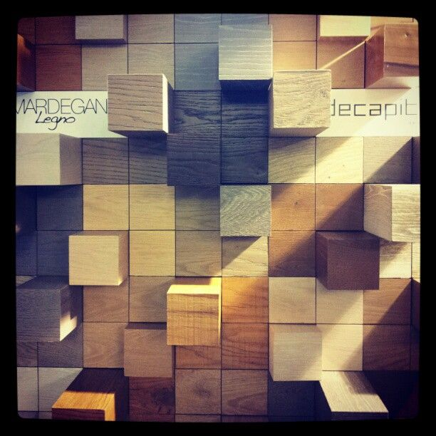 Porta Venezia in design wood-emotion #milandesignweek