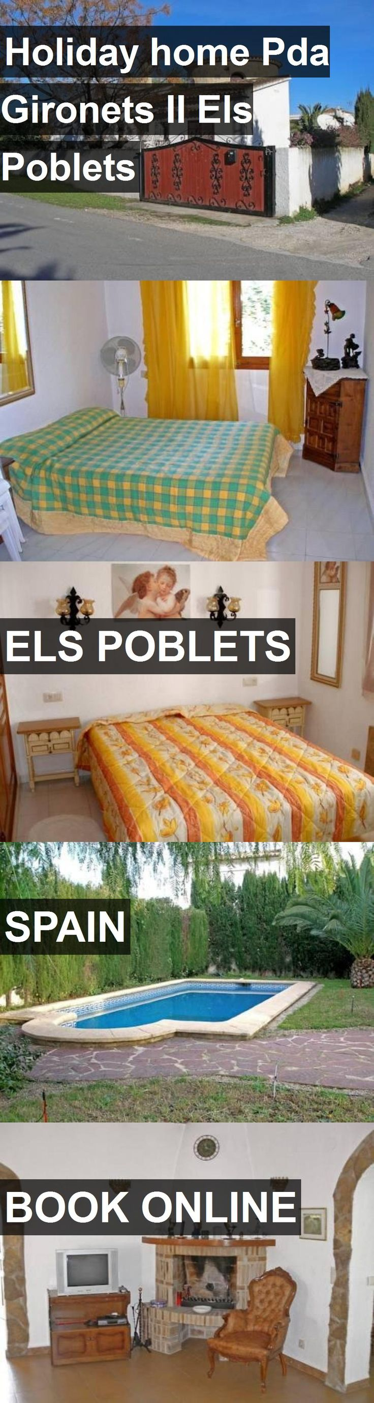 Hotel Holiday home Pda Gironets II Els Poblets in Els Poblets, Spain. For more information, photos, reviews and best prices please follow the link. #Spain #ElsPoblets #travel #vacation #hotel
