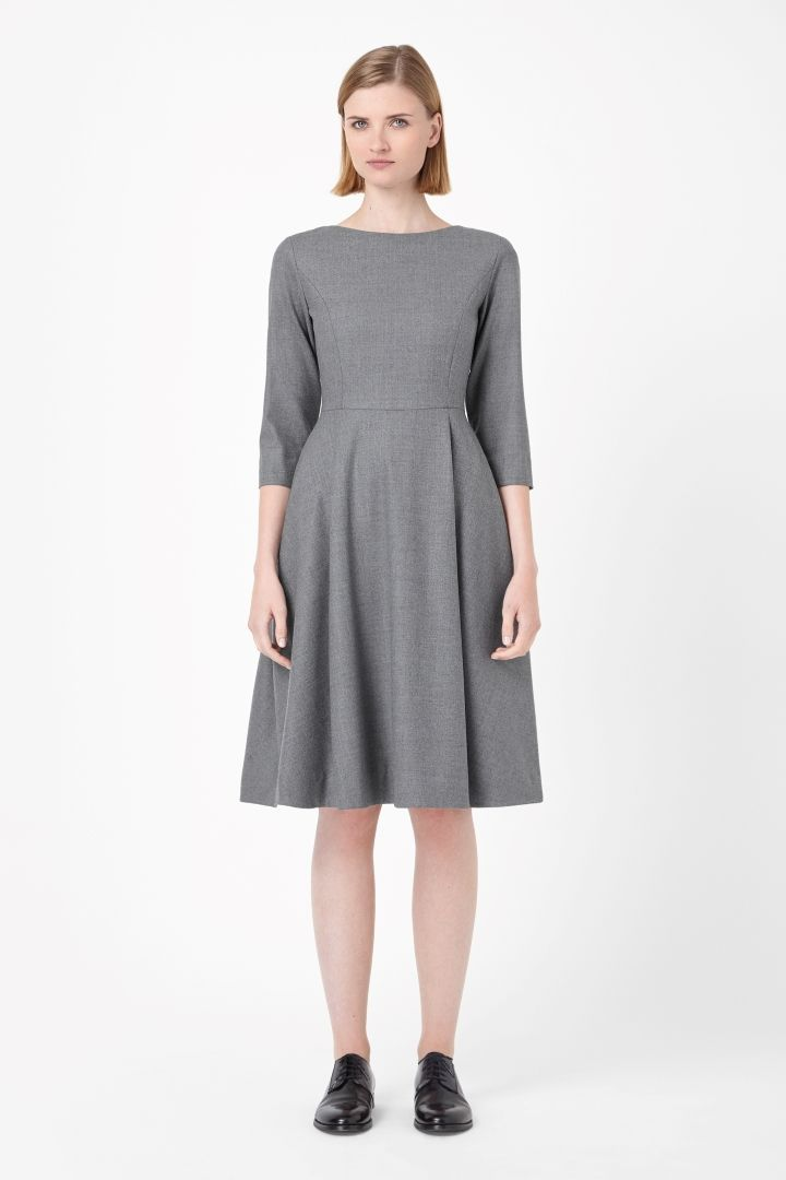 COS   Fitted wool dress
