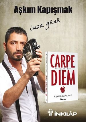 """Aşkım Kapışmak'ın danışmanlık seanslarında kullandığı etkili yöntemleri paylaşmakla kalmayıp zamanı etkin kullanmanın yollarını da anlattığı """"Carpe Diem"""" isimli kitabını imzalayacağı imza günü 8 Aralık'ta."""
