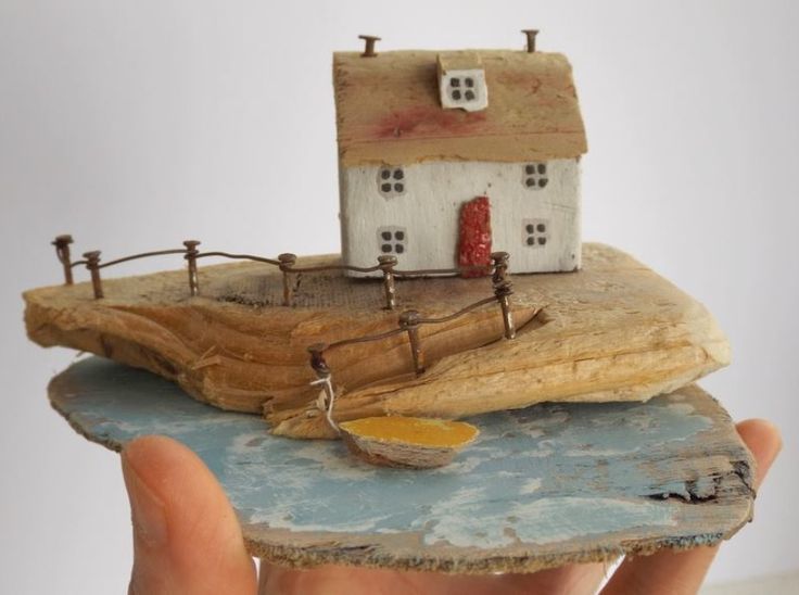 Kirsty Elson Designs. All of her pieces are made from driftwood and found materials.