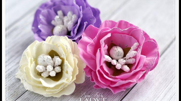 Foamiran Flowers Tutorial