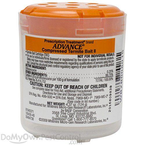 Advance Termite Bait Cartridge II (6 pack) >  Advance Bait Trelona for The Advance termite Bait System  ...