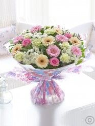 Extra Large Mother's Day Pretty Pastel Hand-tied