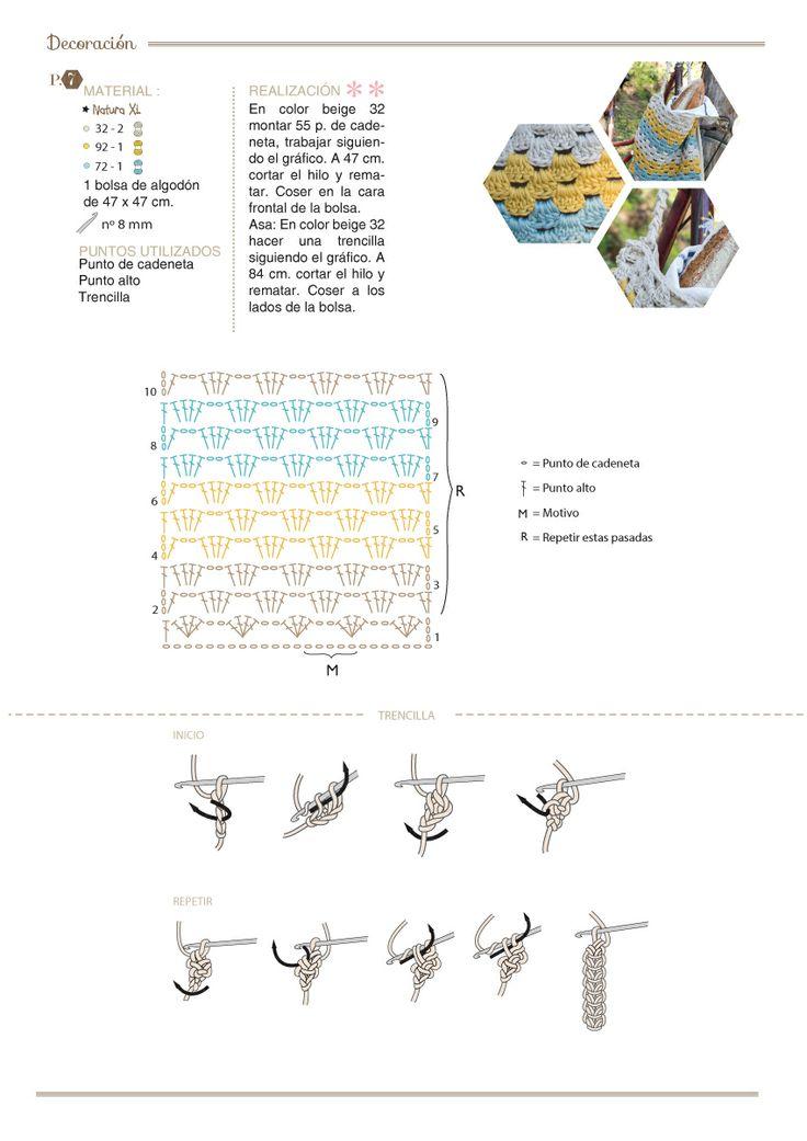 83 best Crochet: patrones basicos images on Pinterest | Crochet ...