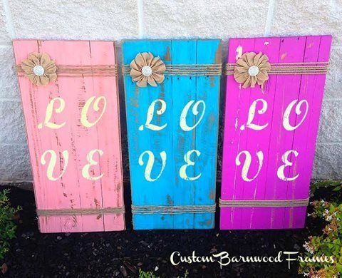 custom barnwood frames sign londyn love blue 3499 http