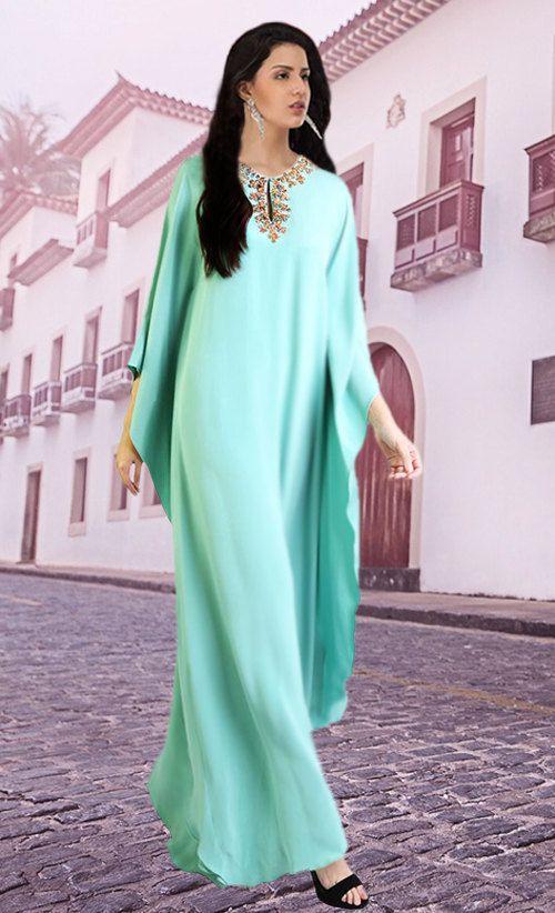 Caftans très fantaisistes Dubai / abaya jalabiya dames Maxi