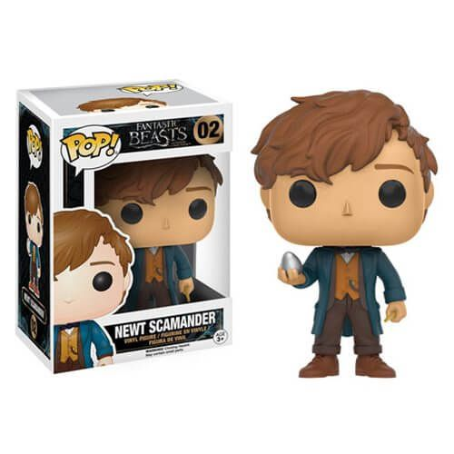 Fantastic Beasts and Where to Find Them Newt Scamander with Egg Pop! Vinyl…
