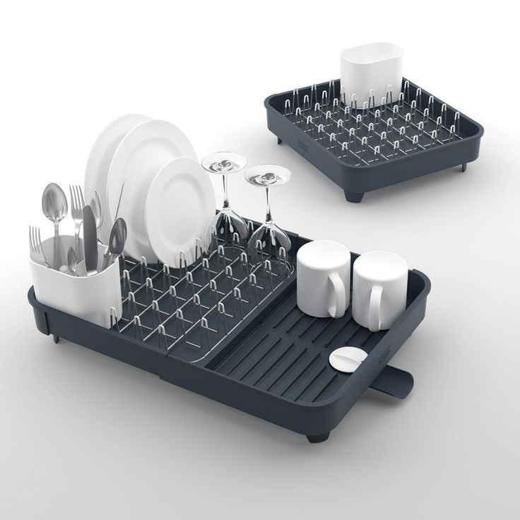 Joseph Joseph JJ85040 Joseph Joseph Extend Expandable Dish Rack - Grey - brought to you by Cleverboxes.com call 01254 238749