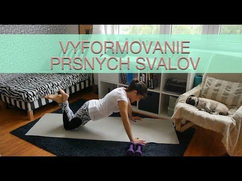 Cvičenie na vyformovanie a spevnenie prsných svalov alebo ako vyformovať prsia prirodzenou cestou - YouTube