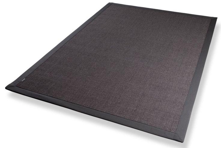 Sisalteppich dunkelgrau Naturteppich - Moderne Teppiche Online Shop