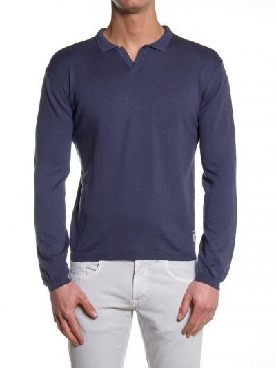Cotton knit Polo fron ORIGINAL collection #SS17