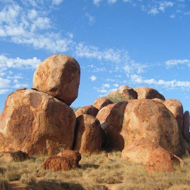 Devils Marbles, Warumungu, Australia - 413km North of Alice...