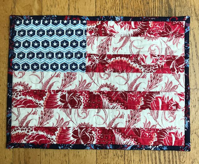 alidiza - Patriotic Pillow Party: Stars & Stripes pillow cover made with Anna Griffin's Madison collection.