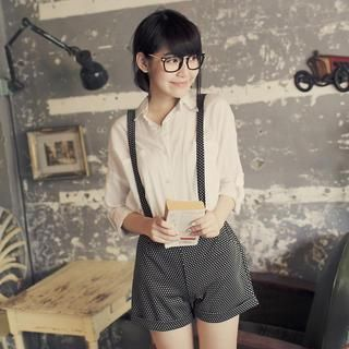 Buy 'Tokyo Fashion – Dotted Jumper Shorts' with Free International Shipping at YesStyle.com. Browse and shop for thousands of Asian fashion items from Taiwan and more!